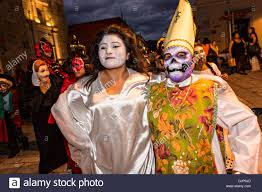 Spanish Countries That Celebrate Halloween by Day Of The Dead Festival Night Stock Photos U0026 Day Of The Dead