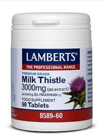Lamberts Milk Thistle 3000MG (60)