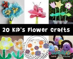 Flower Crafts For Preschoolers Kids Woo Jr Activities On Preschool A Plastic