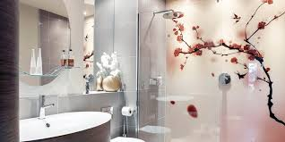 Bathroom Fitted With Easy Glass Splashbacks Printed Shower Wall Panels