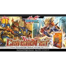 buddyfight trial deck 5 future card buddyfight h td01 hundred trial deck crimson