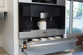 Awesome In Wall Coffee Maker Built Turning Your Kitchen Into A Caf