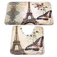 Paris Eiffel Tower Bathroom Accessories by Paris Bathroom Decor