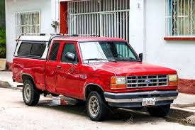 ACAPULCO, MEXICO - MAY 30, 2017: Pickup Truck Ford Ranger In.. Stock ...