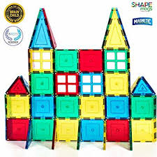 Picasso Magnetic Tiles Vs Magna Tiles by Amazon Com Playmags 100 Piece Super Set With Strongest Magnets