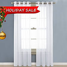 120 Inch Long Sheer Curtain Panels by Amazon Com Curtain Fresh Arm And Hammer Odor Neutralizing Sheer