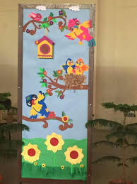 Spring Door Decoration Flower Craft Ideas For A Cool Decorations Preschoolers 6
