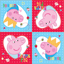 Peppa Pig George Pumpkin Stencil by Peppa Pig Napkins Pack Of 16 Peeks
