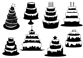 Cake Silhouette Clip Art 21