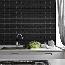 Black Porcelain Floor Tiles Pertaining To Trinity Lux