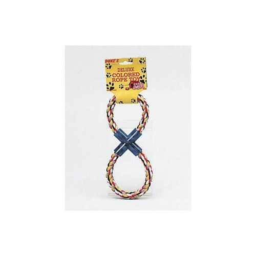 Figure 8 Multi Colored Rope Dog Toy