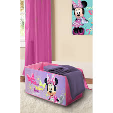Minnie Mouse Rug Bedroom by Disney Minnie Mouse Oversized Soft Collapsible Storage Toy Trunk
