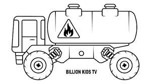 Coloring Oil Monster Truck For Kids, How To Draw Oil Truck Coloring ... Free Printable Monster Truck Coloring Pages For Kids Pinterest Hot Wheels At Getcoloringscom Trucks Yintanme Monster Truck Coloring Pages For Kids Youtube Max D Page Transportation Beautiful Cool Huge Inspirational Page 61 In Line Drawings With New Super Batman The Sun Flower