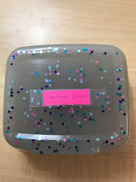 This Is Unicorn Cereal Slime It Also Very Crunchy A Clear With Blue And White Floam Beads Along Pinkpurpleblueturquoise