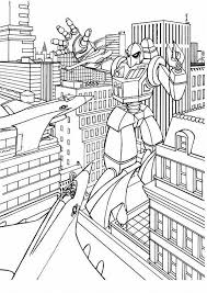 Cartoons Coloring Pages Transformers Bumblebee