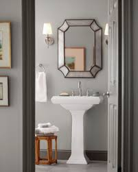 Gender Neutral Bathroom Colors by One Color Two Ways Behr Silver Bullet Is A Design Meet