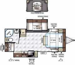Travel Trailer Floor Plans Rear Kitchen by Forest River Rockwood Ultra Lite Rvs For Sale Camping World Rv Sales
