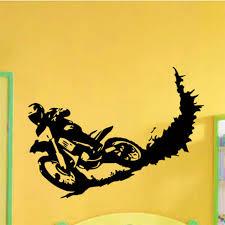 bike moto motocross sport wall sticker decal home decor decals
