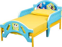 Spongebob Bedroom Set by Amazon Com Nickelodeon Sponge Bob Toddler Bed Toys U0026 Games