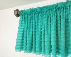 Mint Curtains For Nursery by Cream Curtain Valance Ruffle Curtains Off White Valance