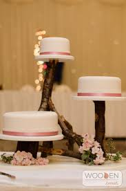 Rustic 3 Tier Cake Stand Available For Hire From Wooden Treats