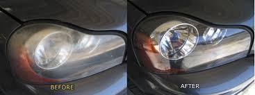 restorative headlight polishing