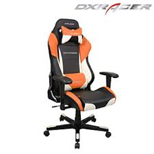 Playseat Office Chair White by Dxracer Black White U0026 Orange Color Modern Office Chair Pc Gaming