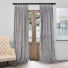 Dkny Modern Velvet Curtain Panels by Dkny Urban Meadow Botanical Nature Floral Branches Leaves Vines