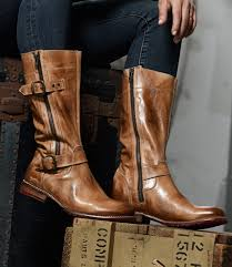 gogo lug tan rustic tall boots women bed stu