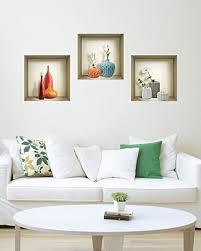 3d wand nische aufkleber set 3d wall decor wand aufkleber wohnzimmer decals für schlafzimmer vinyl wand aufkleber vinyl aufkleber