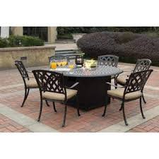 7 Piece Patio Dining Set by Outdoor Dining Sets For Less Overstock Com