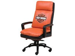 100 Harley Davidson Lounge Chair HighBack Executive Swivel HDFHD931STG