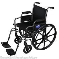 Medline Transport Chair Instructions by Medline Foldable Wheelchairs Ebay