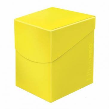 Ultra Pro Eclipse Deck Box - Lemon Yellow