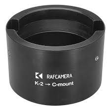 100 Krasnogorsk 2 And 16SP Lens To Cmount Adapter