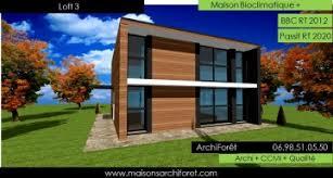 maison ossature bois cle en clef en ou kit clos couvert www maisonsarchiforet