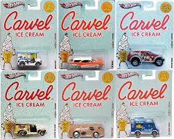 Amazon.com: 2012 Hot Wheels Nostalgia Carvel Ice Cream 6-Car Set ...