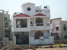 Duplex Elevation Picture With Boundary Wall Design - GharExpert Boundary Wall Design For Home In India Indian House Front Home Elevation Design With Gate And Boundary Wall By Jagjeet Latest Aloinfo Aloinfo Ultra Modern Designs Google Search Youtube Modern The Dramatic Fence Designs Best For Model Gallery Exterior Tiles Houses Drhouse Elevation Showing Ground Floor First