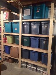 Sams Club Christmas Tree Storage by Our 70 Storage Bin Shelving Part One Passionate Penny Pincher