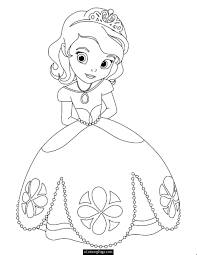 Princess Coloring Pages Free Printable Disney Online Ariel To Print Colouring Sheets Full Size