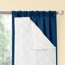 Sound Deadening Curtains Bed Bath And Beyond by Season Smart Window Curtain Room Darkening Noise Reducing