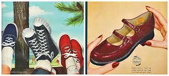 Vintage Childrens Shoe Ads 1950s
