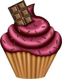 Chocolate Cupcake Clipart 15
