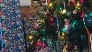 Saran Wrap Christmas Tree With Ornaments by Here U0027s What U0027s Happening At This House Of Boys