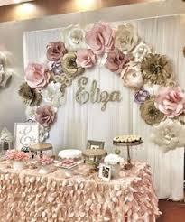 Paper Flowers Flower Backdrop Wedding Decor Retirement Party Corporate Events