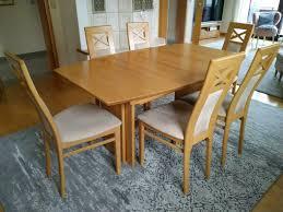 esszimmer tisch 1 6m bis 3 4m 6 stühle esstisch ausziehtisch