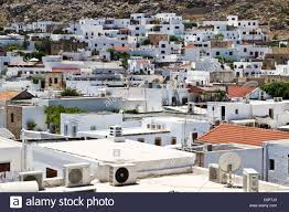 100 Beautiful White Houses White Houses In Lindos Of Rhodes Island Greece