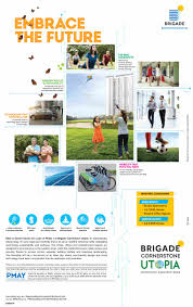 100 Utopia Residences Embrace The Future By Residing At Brigade In Bangalore