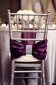 ruban pour noeud de chaise 1001 idées de decoration de mariage avec du ruban strass