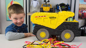 HUGE Tonka Truck Surprise Toys Pinata Toys For Boys Tonka Tinys Toy ... Wilko Blox Dump Truck Medium Set Amazoncom Pinata Kids Birthday Party Supplies For Personalized Cstruction Theme Etsy Huge Tonka Surprise Toys Boys Tinys Toy Dump Truck Pinata Google Search Cumpleaos Pinterest Cstruction Custom Garbage Trucks Cartoons Elisekidtvkids Opening Piata Logo Also Hoist Cylinder As Well Hauling Prices 2016 Puppy Monster Ss Creations Pinatas Ideas On Purpose Little Blue 1st The Diary Of Mrs Match